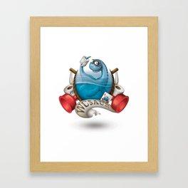 WCsaur Framed Art Print