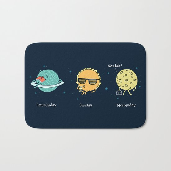 Moonday Bath Mat