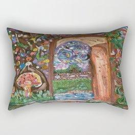 Fairy World Rectangular Pillow