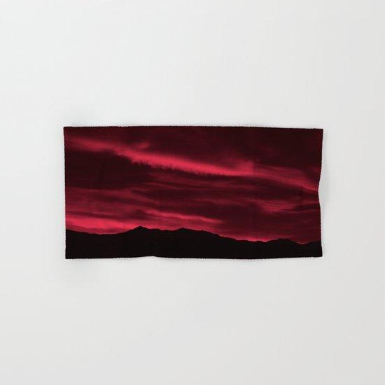 SW Burgundy Sunrise Hand & Bath Towel