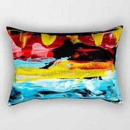 Color Abstract 1 Rectangular Pillow