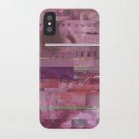 glitch iPhone & iPod Cases featuring Glitch  by Mikath