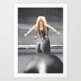 """The Generation Gap"" Art Print"