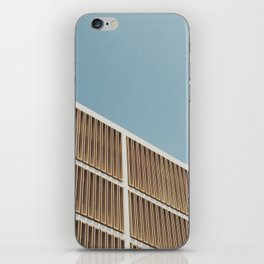 Brutalist Baby iPhone Skin