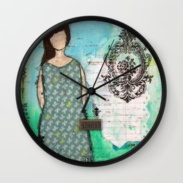 Cherish Wall Clock