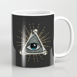 All seeing eye of God Coffee Mug