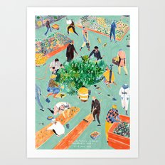 Compost Awareness Week Art Print