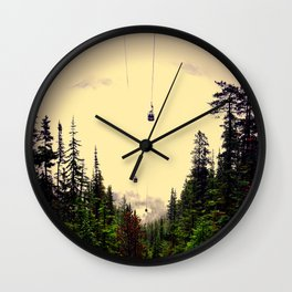 Go west young man Wall Clock