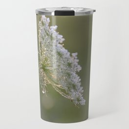 Queen Anne's Lace Morning Dew Travel Mug