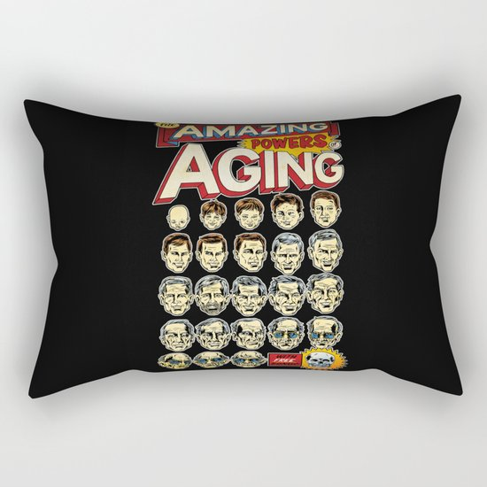 The Amazing Powers of Aging! Rectangular Pillow
