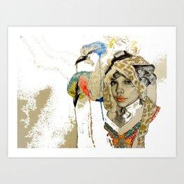 jennifer wip Art Print