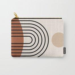 Abstraction_SUN_LINE_BOHEMIAN_LANDSCAPE_POP_ART_1129B Carry-All Pouch