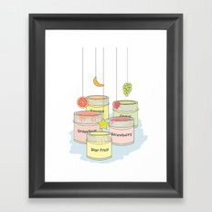 iFruit Framed Art Print