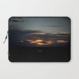 Road Trip Sunet Laptop Sleeve