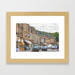 Dale Road - Matlock Framed Art Print