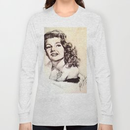 Rita Hayworth Long Sleeve T-shirt