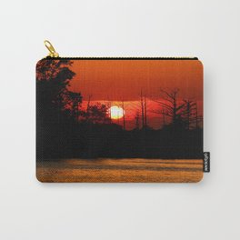 Cape Fear River Sunset Carry-All Pouch