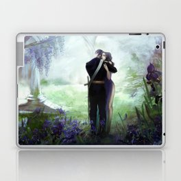 In your arms - Love embrace before departure - couple tight hug Laptop & iPad Skin