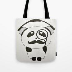 Professor Panda Tote Bag