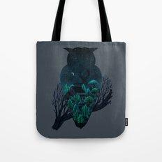 Owlscape Tote Bag