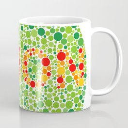 Colour Blindness Vision Coffee Mug