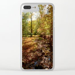 Autumn Afternoon Clear iPhone Case