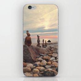Rock Totems iPhone Skin