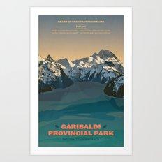 Garibaldi Park Poster Art Print