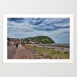 Minehead Somerset Art Print