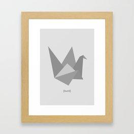 Burd 2.0 Framed Art Print