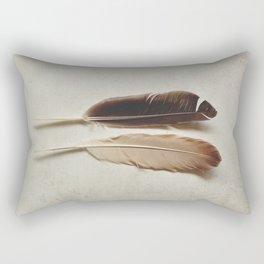Feathered Pair Rectangular Pillow