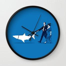 Walking the Shark Wall Clock
