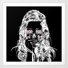 The Woman Inside Art Print