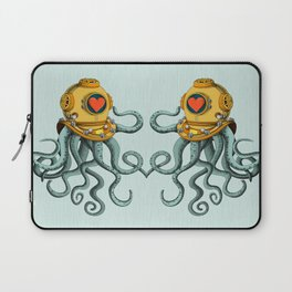 I'm falling in love with you? (left) Laptop Sleeve