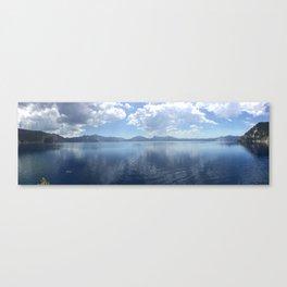 A Swim at Crater Lake Canvas Print
