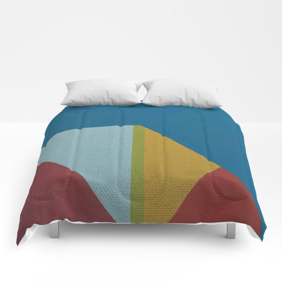 Geometric Thoughts 3 Comforters