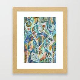 Secret Garden by Justine Aldersey-Williams Framed Art Print