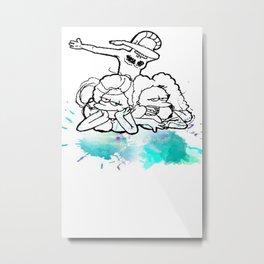 NED Metal Print
