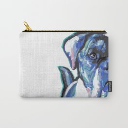 American Bulldog Pop Art by Lea Carry-All Pouch