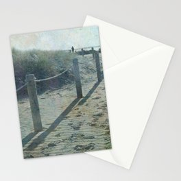 Old worlde beach scene Stationery Cards