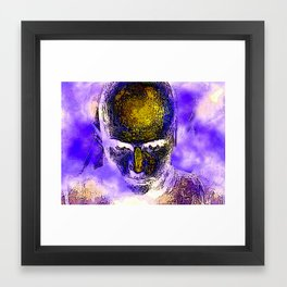 Looking Right At You Framed Art Print