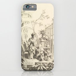 Grisaille Chinoiserie iPhone Case