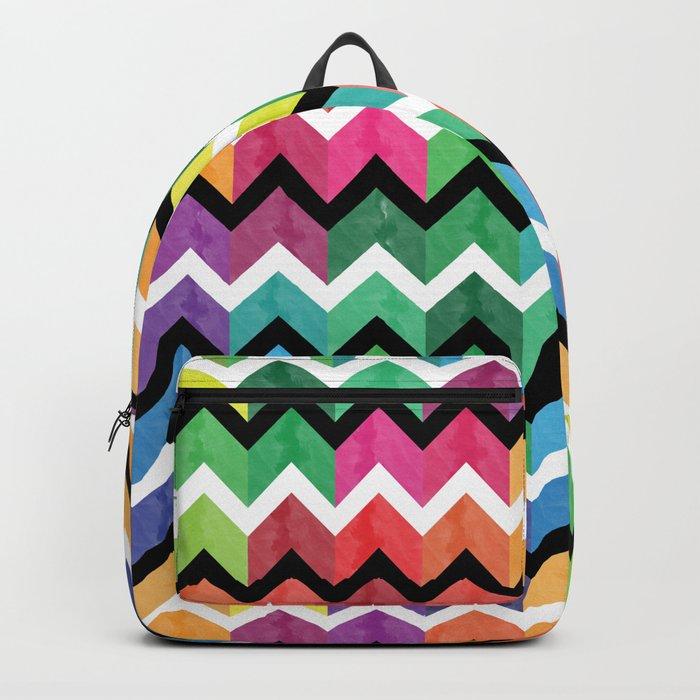 Lovely Chevron Backpack