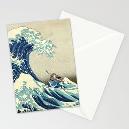 Katara Riding the Wave Stationery Cards