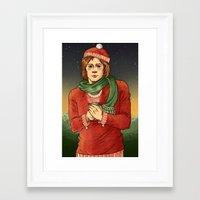 sam winchester Framed Art Prints featuring Sam Winchester by Sandstiel