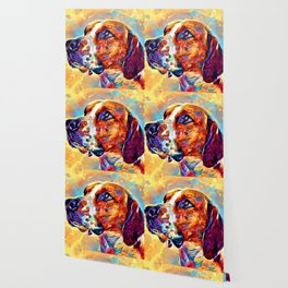 English Foxhound Wallpaper