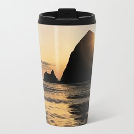 Cannon Beach haystack Travel Mug