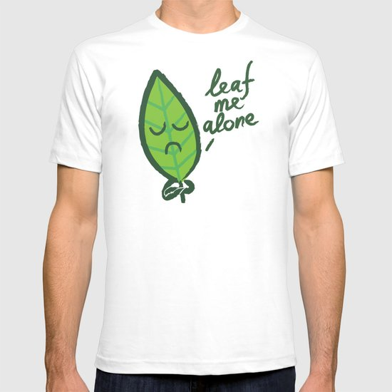 The introvert leaf T-shirt