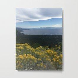 Fall in Tahoe Metal Print