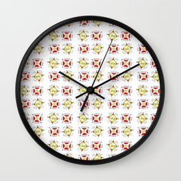 abstraction and game – abstraction,abstract,minimalism Wall Clock